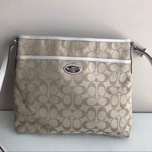 Coach file crossbody bag
